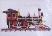 All Aboard Counted Cross Stitch Kit
