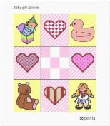 Baby Girl Sampler Needlepoint Canvas