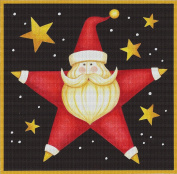 Art Needlepoint Starry Santa Kit