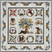 Happy Trails Cowboy Baltimore Album Applique 13 Quilt Pattern P3 Designs BOM