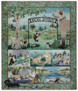 Dog Park McKenna Ryan Pine Needles Set 7 Fusible Applique Quilt Patterns