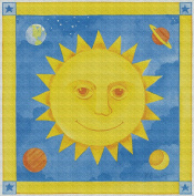 Art Needlepoint Hello Sun Needlepoint Kit by Paul Brent