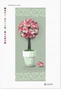 Centrepiece Rose Needlepoint Canvas