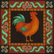 Art Needlepoint Country Rooster Needlepoint Kit