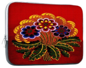 Art Needlepoint Red Floral Pattern Tablet Needlepoint Kit