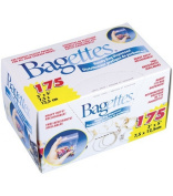 Cousin - Bagettes Heavy Duty Reclosable Bags 175/Pkg - Clear