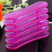 Top Plaza 1X Nail Art Acrylic UV Gel Paint Brush Organisers & Holders, Makeup Pen Cosmetic Brush Stand Display, Sexy Fushia