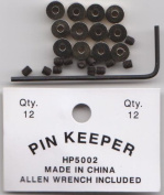 Pin Keepers Locking Pinkeepers Back With Wrench Biker VERY HIGH QUALITY LOW SHIP