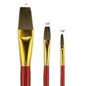 """Fundamentals"""" Short Handle Brush Set No. 10"""