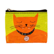 Blue Q Coin Purse Fat Cat