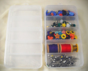 1 Pair of 5 Compartment Sewing Organisers