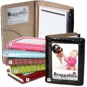 Braggables Wet Croco Collection Photo Note Pad & Pen