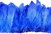 25cm NAGORIE Feather Fringe 15cm - 20cm Dyed ROYAL BLUE