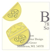 "Monogram - "" B "" - Paper Clips - Pack of 100"