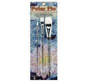 Creative Mark Polar-Flo 700B Brush Set of 3