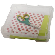 Back to School Special! IRIS Small Portable School Supply,Project, and Scrapbook Case for 20cm x 20cm paper