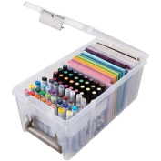 ArtBin 6923AB Marker Storage Satchel with 1-Marker Tray and 2 Dividers