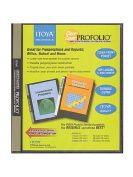 Itoya Clear Cover Profolio Presentation Books 36 pages (72 views) [PACK OF 2 ]