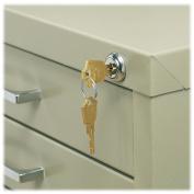 Safco Lock Kit for 5-Drawer Files