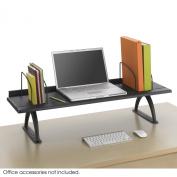 Safco Products 110cm Desk Riser, Black