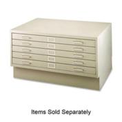 Safco Five-Drawer Steel Flat File