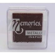 Memories Metallic Small Inkpad-bronze