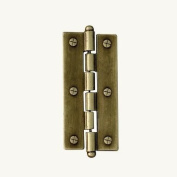 7gypsies 12314 Journal Hinges with Screwposts Antique Brass