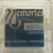 Memories Metallic Small Ink Pad-blue