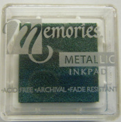 Memories Metallic Small Ink Pad-green