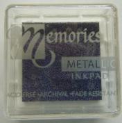 Memories Metallic Small Inkpad-purple