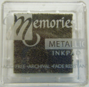 Memories Metallic Small Inkpad-copper