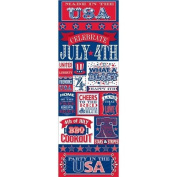 Made In The USA Die-Cut Stickers 11cm x 33cm -Graphics