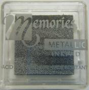 Memories Metallic Inkpad- Small Silver