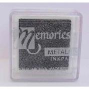 Memories Metallic Small Ink Pad-black