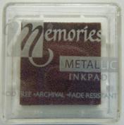 Memories Metallic Small Inkpad-pink