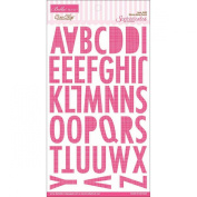 Bella Blvd Birthday Girl Ciao Chip Punch Sienaa Alpha Chipboard Letters
