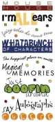Stickers Phrase - Magical Memories
