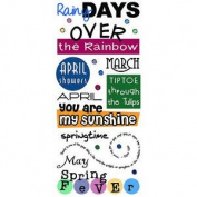 Stickopotamus Phrase Cafe Stickers-Spring Fever