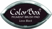 ColorBox Classic Pigment Cat's Eye Ink Pads, Lava Black