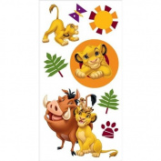 3-D Embellishment Sticker-Lion King