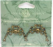 Anna GriffinBrass Embellishments - Bows