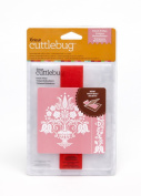Cricut Cuttlebug A2 Embossing Folder and Border for Scrapbooking, Dutch Tulips