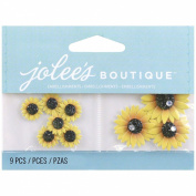 Jolee's Boutique Embellishments-Mini Sunflowers