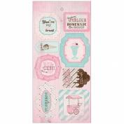Sweetness Components Die-Cut Cardstock Accents 15cm x 30cm -
