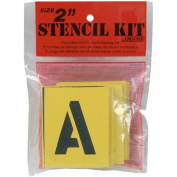 Decorcal - Reusable Stencil Lettering Kit