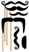 EK Success Brands Jolee's Boutique Decorative Stickers, Moustaches on Sticks Dress Ups