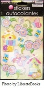 Special Moments Handmade Autocollantes butterflies, birdhouses and flower stickers