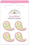 Doodlebug Design Strawberry Parfait Braddies