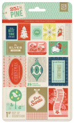 BasicGrey 25th and Pine Collection Vintage Stamps