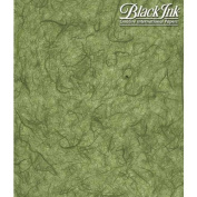 Paper Unryu Tissue Forest Green 25X37